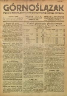 Górnoślązak, 1920, R. 14, Nr. 157