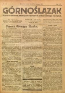 Górnoślązak, 1920, R. 14, Nr. 192