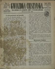 Gwiazdka Cieszyńska, 1876, Nry 1-26, 29-53