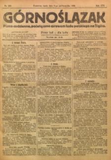 Górnoślązak, 1920, R. 14, Nr. 229
