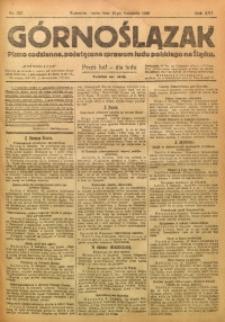 Górnoślązak, 1920, R. 14, Nr. 257