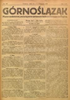Górnoślązak, 1920, R. 14, Nr. 263