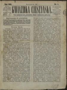 Gwiazdka Cieszyńska, 1881, Nry 1-53