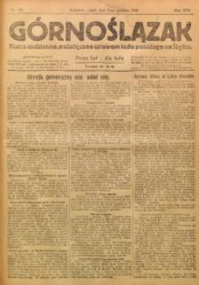 Górnoślązak, 1920, R. 14, Nr. 276
