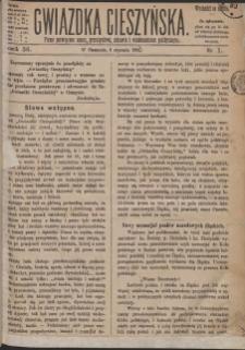 Gwiazdka Cieszyńska, 1883, Nry 1-51