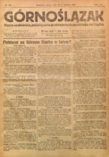 Górnoślązak, 1920, R. 14, Nr. 295