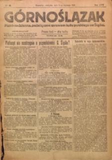 Górnoślązak, 1921, R. 17, Nr. 6