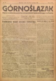 Górnoślązak, 1921, R. 17, Nr. 14