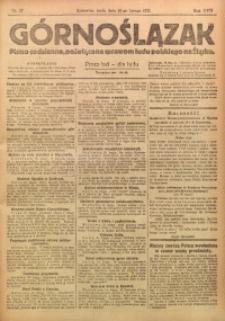 Górnoślązak, 1921, R. 17, Nr. 37