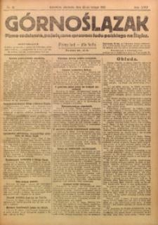 Górnoślązak, 1921, R. 17, Nr. 41