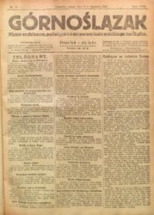 Górnoślązak, 1921, R. 17, Nr. 74