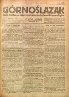 Górnoślązak, 1921, R. 17, Nr. 81