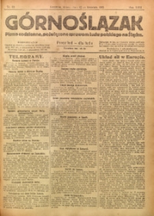 Górnoślązak, 1921, R. 17, Nr. 82