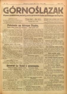 Górnoślązak, 1921, R. 17, Nr. 116