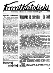 Front Katolicki, [1938], R. 2, nr 7