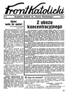 Front Katolicki, [1938], R. 2, nr 8