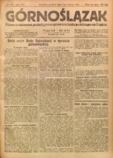 Górnoślązak, 1921, R. 17, Nr. 179