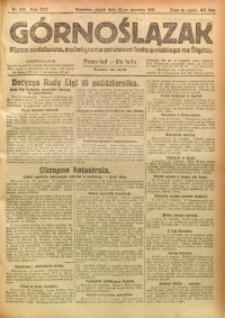 Górnoślązak, 1921, R. 17, Nr. 219
