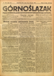 Górnoślązak, 1921, R. 17, Nr. 264