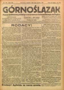 Górnoślązak, 1921, R. 17, Nr. 282