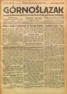 Górnoślązak, 1921, R. 17, Nr. 294