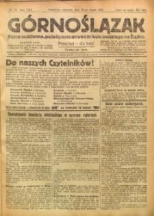 Górnoślązak, 1922, R. 21, Nr. 73
