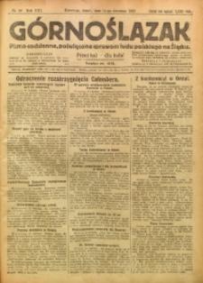 Górnoślązak, 1922, R. 21, Nr. 86