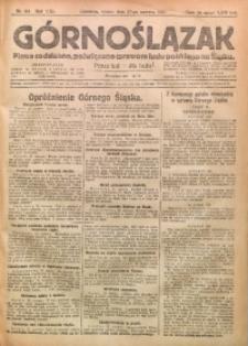 Górnoślązak, 1922, R. 21, Nr. 144