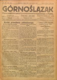 Górnoślązak, 1922, R. 21, Nr. 173