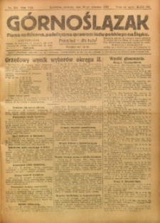 Górnoślązak, 1922, R. 21, Nr. 224