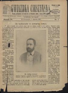 Gwiazdka Cieszyńska, 1901, Nry 1-52