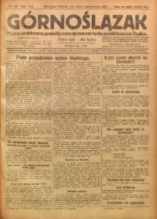 Górnoślązak, 1922, R. 21, Nr. 245