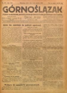 Górnoślązak, 1922, R. 21, Nr. 288