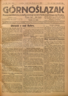 Górnoślązak, 1923, R. 22, Nr. 40