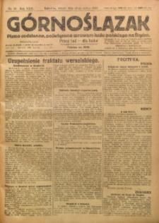 Górnoślązak, 1923, R. 22, Nr. 58