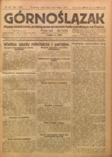 Górnoślązak, 1923, R. 22, Nr. 65