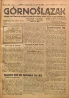 Górnoślązak, 1923, R. 22, Nr. 74