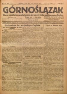 Górnoślązak, 1923, R. 22, Nr. 75