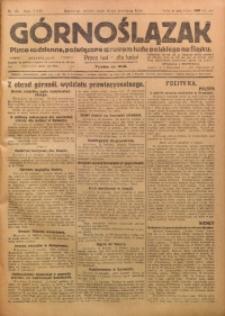 Górnoślązak, 1923, R. 22, Nr. 84