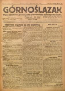 Górnoślązak, 1923, R. 22, Nr. 109