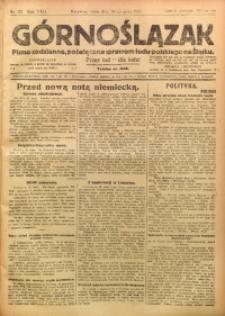Górnoślązak, 1923, R. 22, Nr. 121