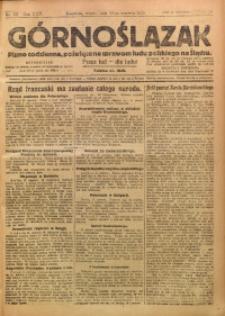 Górnoślązak, 1923, R. 22, Nr. 137