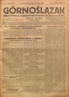 Górnoślązak, 1923, R. 22, Nr. 160