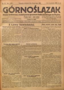 Górnoślązak, 1923, R. 22, Nr. 171