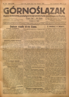 Górnoślązak, 1923, R. 22, Nr. 175