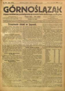 Górnoślązak, 1923, R. 22, Nr. 202