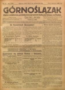 Górnoślązak, 1923, R. 22, Nr. 251
