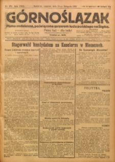 Górnoślązak, 1923, R. 22, Nr. 274