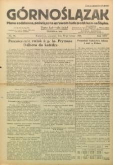 Górnoślązak, 1926, R. 25, Nr. 39