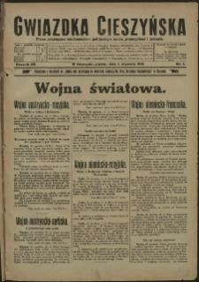 Gwiazdka Cieszyńska, 1915, Nry 1-105